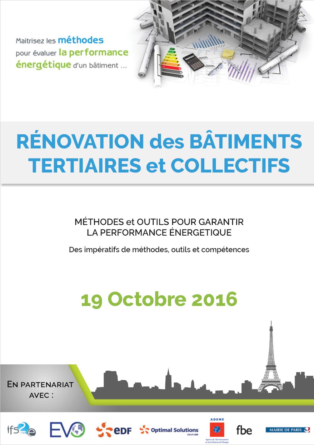Colloque Garantie des Résultats Énergétiques EDF Lab Paris-Saclay